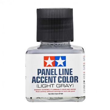Panel Line Accent Color Enamel Light Gray