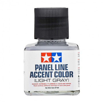Panel Line Accent Color Enamel Light Gray