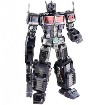 Transformers G1 Leader Grade Optimus Prime Full Version Black