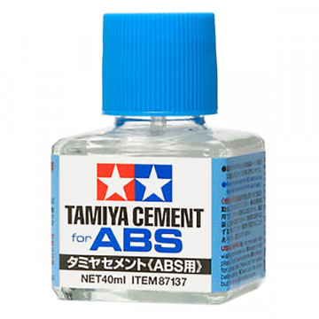 Colla per Plastica Abs Tamiya Cement da 40ml