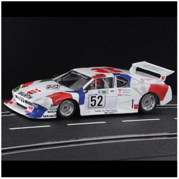BMW M1 Sauber n.52 Wurth-Lubrifilm Team Sauber 24 Hrs Le Mans 81