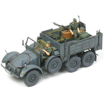 Camion Militare da Trasporto 6x4 Truck Krupp Protze Kfz.70 1:35