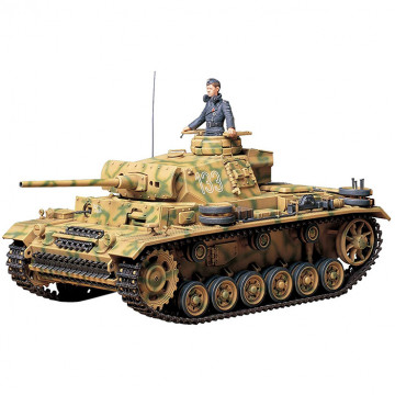 Carro Armato Tedesco Panzer Kampfwagen III Ausf.L 1:35