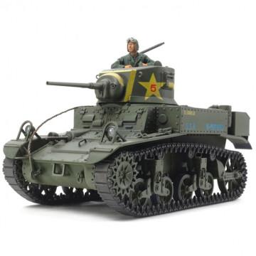 Carro US Light Tank M3 Stuart Late Production 1:35