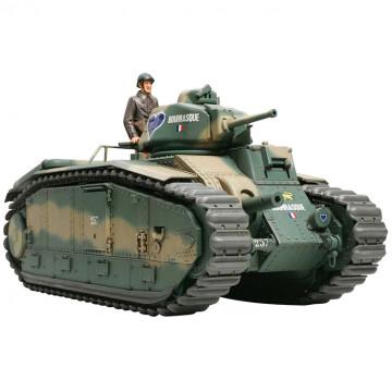 Carro Armato Francese Battle Tank B1 Bis 1:35