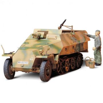 Semicingolato Tedesco Sd.Kfz. 251/9 Ausf.D. Kanonenwagen 1:35