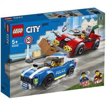 City - Arresto su strada della polizia
