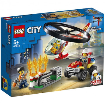 City - Elicottero dei pompieri