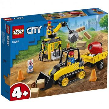 City - Bulldozer da cantiere