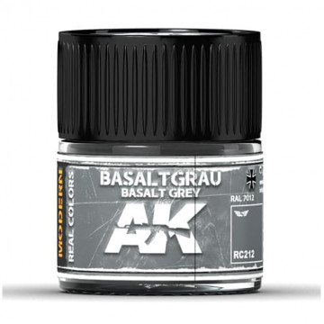 Vernice Acrilica AK Real Colors Basalt Grey RAL 7012 10ml