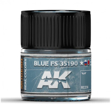 Vernice Acrilica AK Real Colors Blue FS 35190 10ml