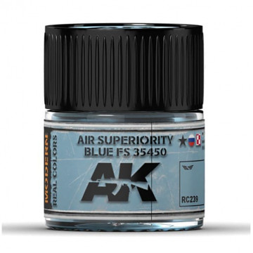 Vernice Acrilica AK Real Colors Air Superiority Blue FS 35450 10ml