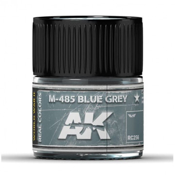Vernice Acrilica AK Real Colors Blue Grey M-485 10ml