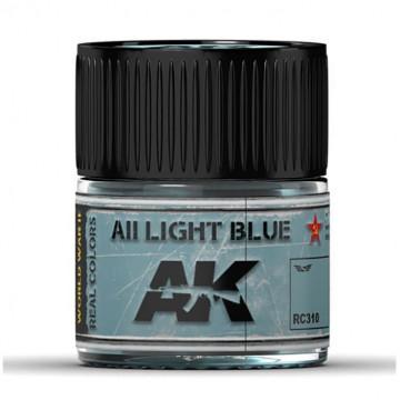 Vernice Acrilica AK Real Colors AII Light Blue 10ml