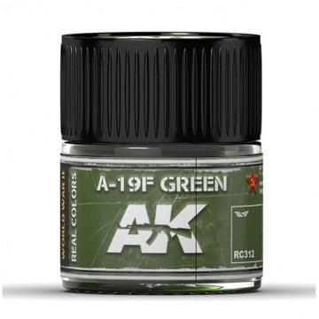 Vernice Acrilica AK Real Colors  Grass Green A-19F 10ml