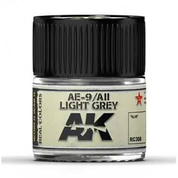 Vernice Acrilica AK Real Colors AII Light Grey AE-9 da 10ml