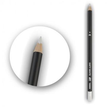 Set 5 Matite AK Watercolor Pencil Dirty White