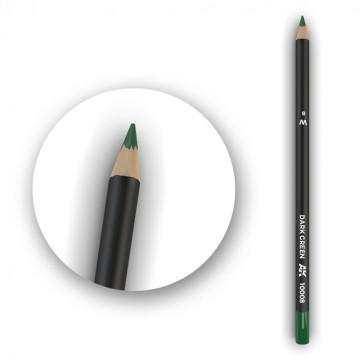 Set 5 Matite AK Watercolor Pencil Dark Green
