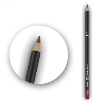 Set 5 Matite AK Watercolor Pencil Dark Rust