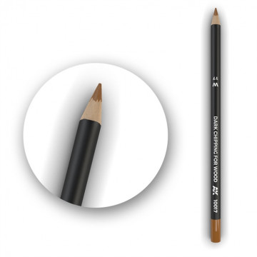 Set 5 Matite AK Watercolor Pencil Dark Chipping