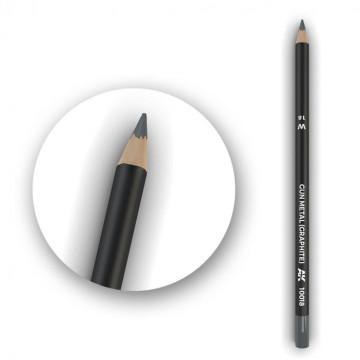 Set 5 Matite AK Watercolor Pencil Gun Metal