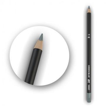 Set 5 Matite AK Watercolor Pencil Green Blue