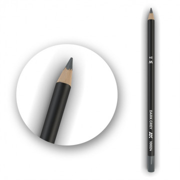 Set 5 Matite AK Watercolor Pencil Dark Grey