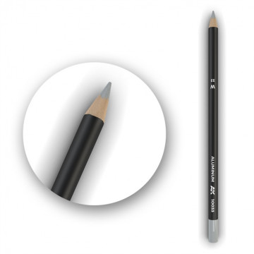Set 5 Matite AK Watercolor Pencil Aluminum