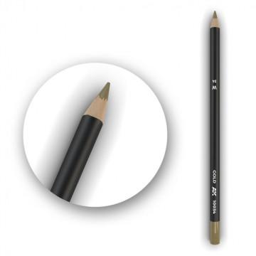 Set 5 Matite AK Watercolor Pencil Gold