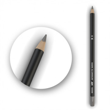 Set 5 Matite AK Watercolor Pencil Dark Aluminum