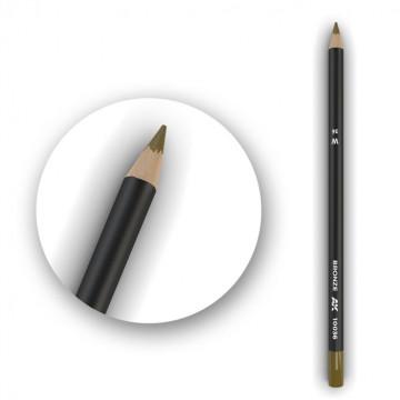 Set 5 Matite AK Watercolor Pencil Bronze