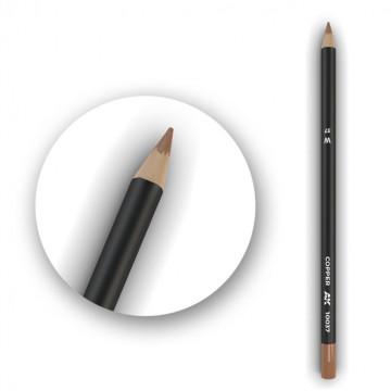 Set 5 Matite AK Watercolor Pencil Copper