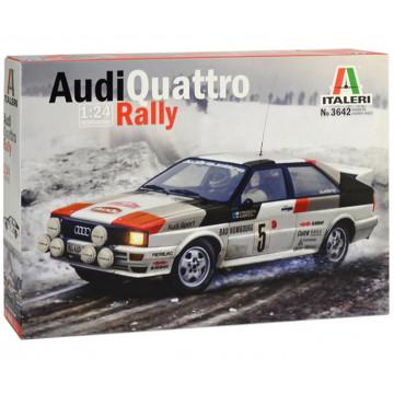 Audi Quattro Rally Montecarlo 1981 1:24