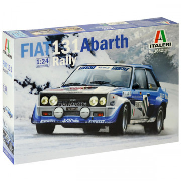 Fiat 131 Abarth Rally 1:24