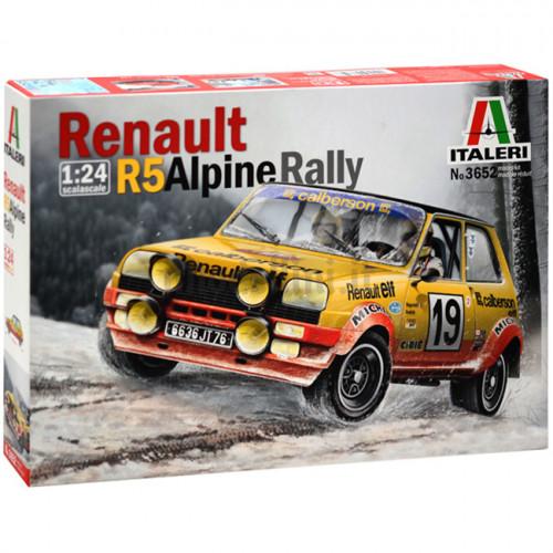 Renault 5 Alpine Rally 1:24