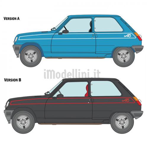 Renault 5 Alpine Stradale 1:24