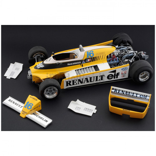 Formula 1 Renault RE 20 Turbo 1:12