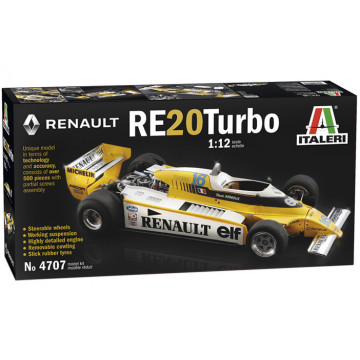 Formula 1 Renault RE 20 Turbo 1:12