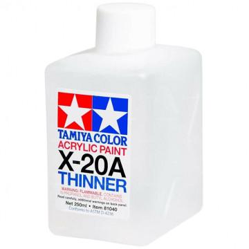 Diluente Tamiya X-20A Thinner per Vernici Acriliche da 250 ml