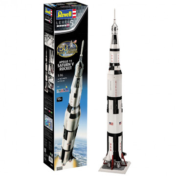Apollo 11 Saturn V Rocket 1:96