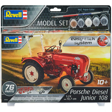Model Set Trattore Porsche Junior 108 Easy-Click 1:24