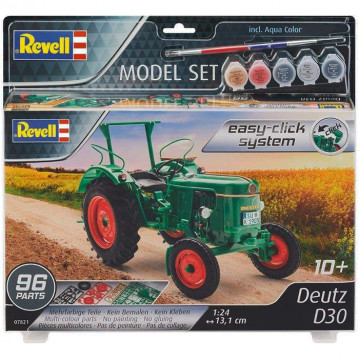 Model Set Trattore Deutz D30 Easy-Click 1:24