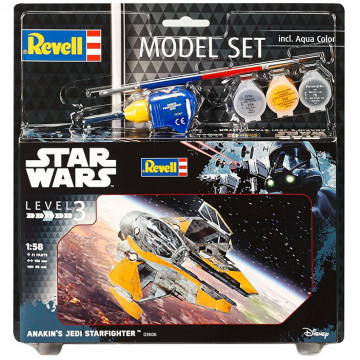 Model Set Star Wars Anakin's Jedi Starfighter 1:58