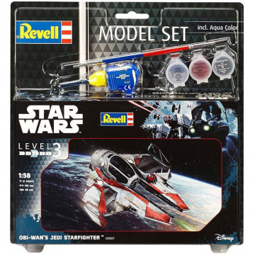 Model Set Star Wars Obi Wan's Jedi Starfighter 1:58