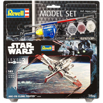 Model Set Star Wars ARC-170 Clone Fighter 1:83