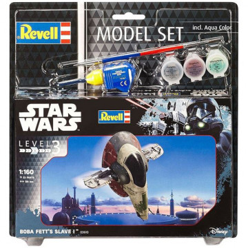 Model Set Star Wars Boba Fett's Slave 1:60