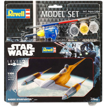 Model Set Star Wars Naboo Starfighter 1:109