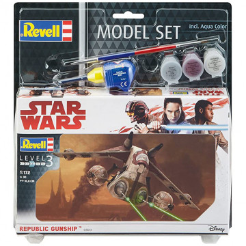 Model Set Star Wars Republic Gunship 1:172