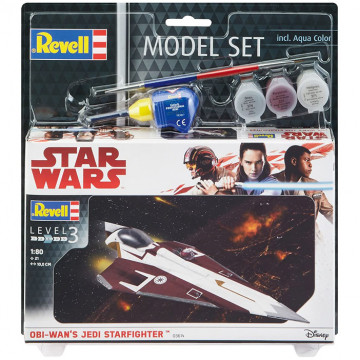 Model Set Star Wars Obi Wan's Jedi Starfighter 1:80