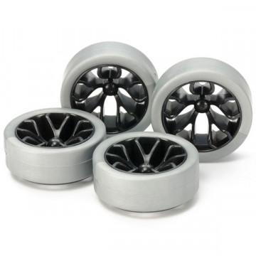 Cerchi Carbon con Gomme Dure Silver